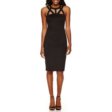 jcpenney.com | Spense Sleeveless Embellished Bodycon Dress