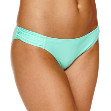 jcpenney.com | Ibiza Solid Hipster Swimsuit Bottom-Juniors