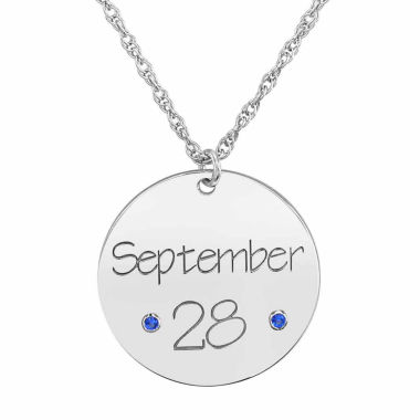 jcpenney.com | Personalized Birthstone Date Pendant Necklace