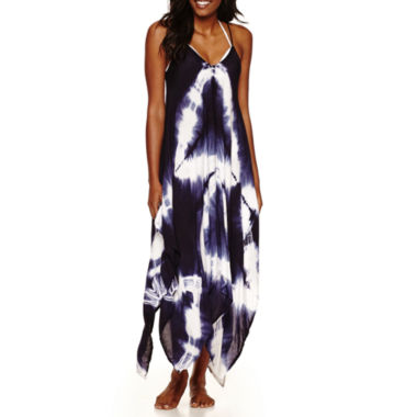 jcpenney.com | a.n.a Tie Dye Rayon Dress