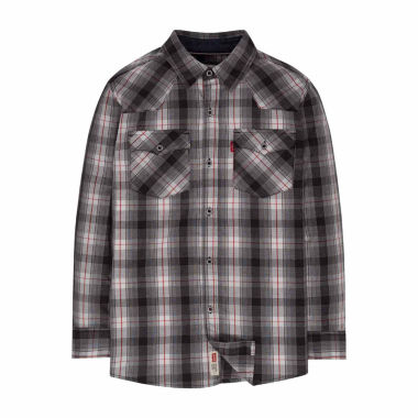 jcpenney.com | Levi's Boys Long Sleeve Button-Front Shirt