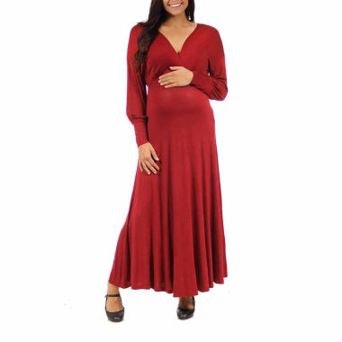 jcpenney.com | 24/7 Comfort Apparel Maxi Dress-Maternity