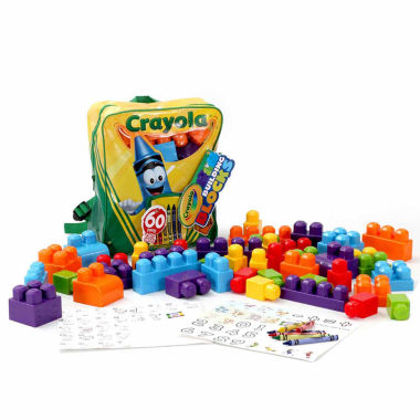 jcpenney.com | Amloid Kids Crayola 60 Pc. Building Block & Backpack Set