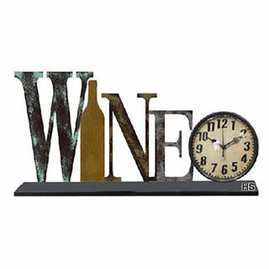 jcpenney.com | Wine Wall Clock