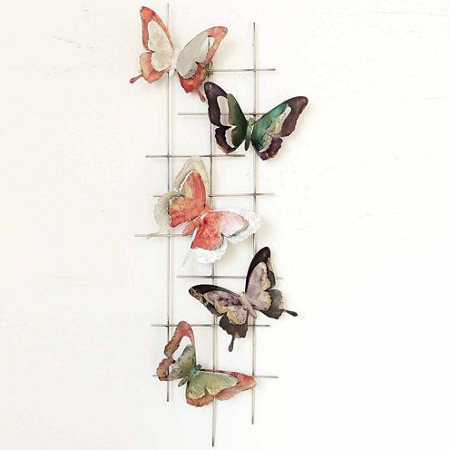 Butterflies Left Wall Decor