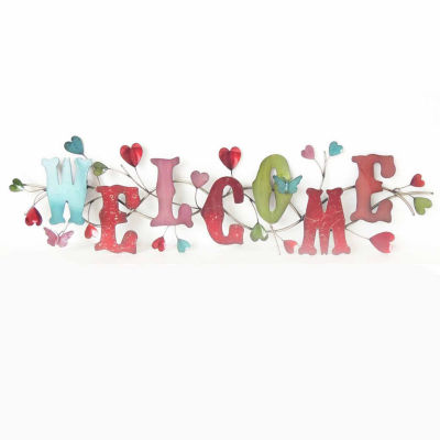 Welcome Wall Decor welcome wall decor - jcpenney