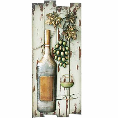 jcpenney.com | Bottle On Board Wall Decor
