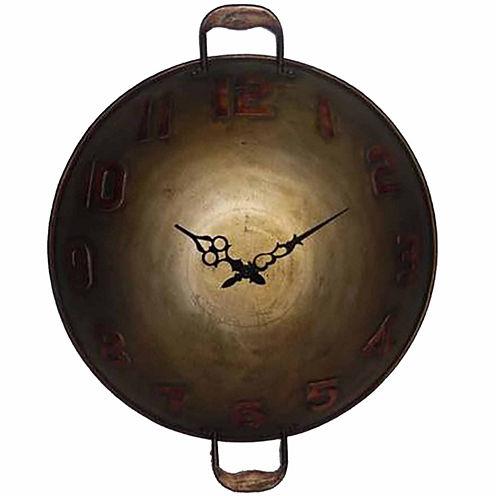 Wall Clock 8 Paneled