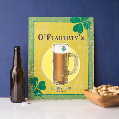jcpenney.com | Cathy's Concepts Personalized Irish Craft Beer Sign