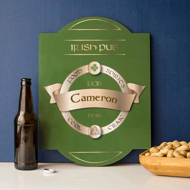 jcpenney.com | Cathy's Concepts Personalized Irish Pub Sign