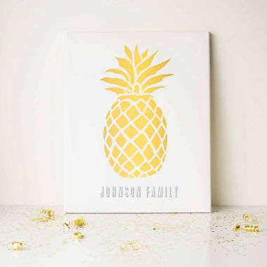 jcpenney.com | Cathy's Concepts Personalized Pineapple Canvas