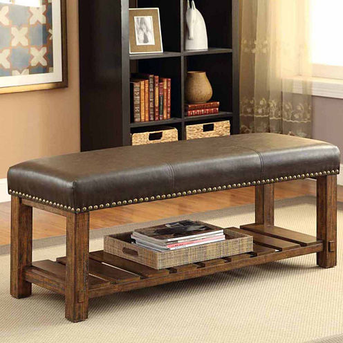 Jenner Rustic Bench