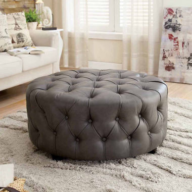 jcpenney.com | Hores Contemporary Tufted Ottoman