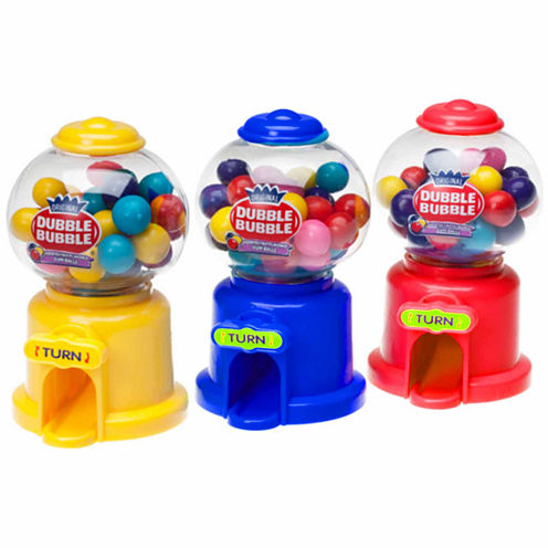 Dubble Bubble Gumball Machine Dispensers: 12 Piece Box
