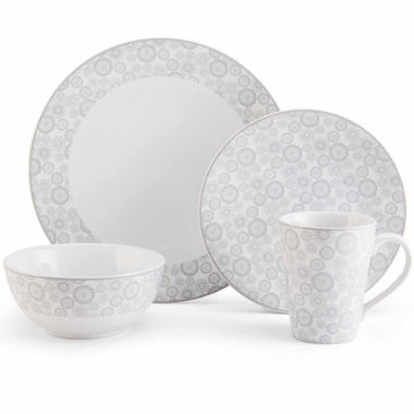jcpenney.com | Mikasa Avery Floral 4-pc. Place Setting