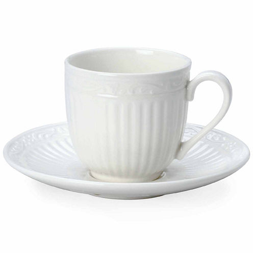 Mikasa Italian Countryside 2-pc. Espresso Cup and Saucer Set