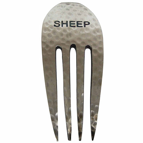 Epicureanist Rustic Sheep Fork Cheese Markers