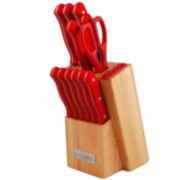 13-pc. Forged Palm Handle Knife Set