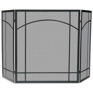 jcpenney.com | Blue Rhino 3 Fold Wrought Iron Mission Fireplace Screen