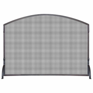jcpenney.com | Blue Rhino Single Panel Wrought Iron Arch Fireplace Screen