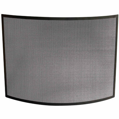 jcpenney.com | Blue Rhino Single Panel Curved Wrought Iron Fireplace Screen