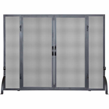 jcpenney.com | Blue Rhino Single Panel Wrought Iron Fireplace Screen