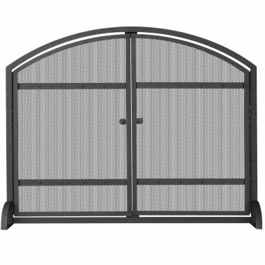 jcpenney.com | Blue Rhino Single Panel Fireplace Screen with Doors & Rivets