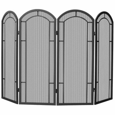 jcpenney.com | Blue Rhino 4 Panel Wrought Iron Fireplace Screen