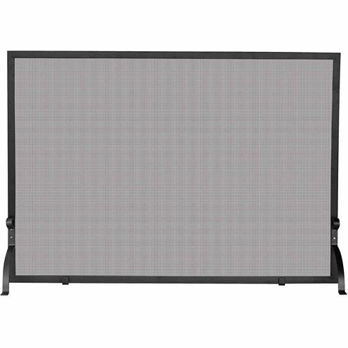 Blue Rhino Single Panel Olde World Iron Fireplace Screen