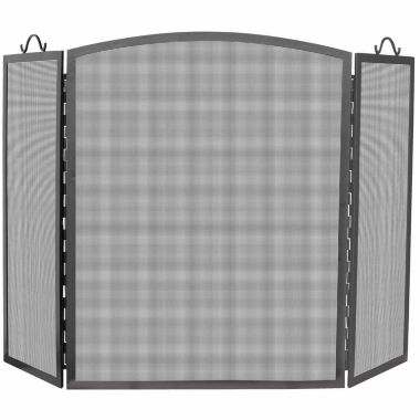 jcpenney.com | Blue Rhino 3 Panel Olde World Iron Arch Top Fireplace Screen