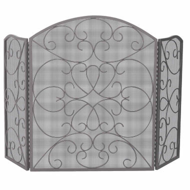 jcpenney.com | Blue Rhino 3 Fold Bronze Ornate Fireplace Screen