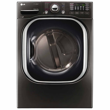 jcpenney.com | LG 7.4 cu. ft. Ultra Large Capacity TurboSteam™ Gas Dryer