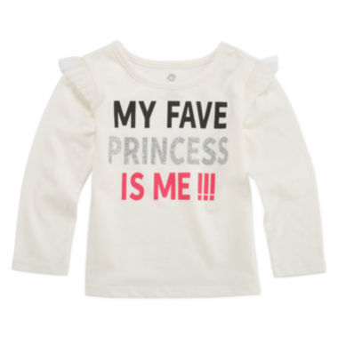 jcpenney.com | Okie Dokie Graphic T-Shirt-Baby Girls