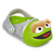 Polliwalks™  Boys Oscar the Grouch Clogs - Toddler