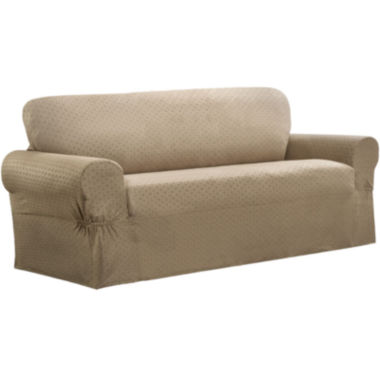 jcpenney.com | Maytex Smart Cover® Conrad Stretch 1-pc. Loveseat Slipcover