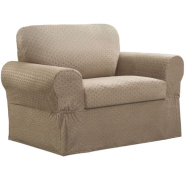 jcpenney.com | Maytex Smart Cover® Conrad Stretch 2-pc. Chair Slipcover