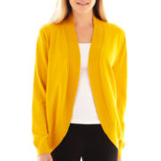 Liz Claiborne Shawl-Collar Cardigan Sweater