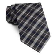 Stafford® Great Grid Slim Tie