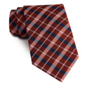 Stafford® Great Grid Slim Tie