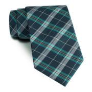 Stafford® Prestigious Plaid Slim Tie