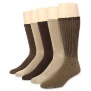 Dockers® 5-pk. Cushioned Socks–Big & Tall
