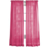 Butterfly Lazer Rod-Pocket Sheer Panel