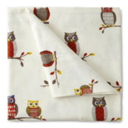 JCPenney Home™ Owl Flannel Sheet Set