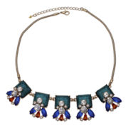 Mixit™ Multicolor Stone & Crystal Statement Necklace