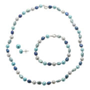 Azul 3-Pc. Cultured Freshwater Pearl Jewelry Set
