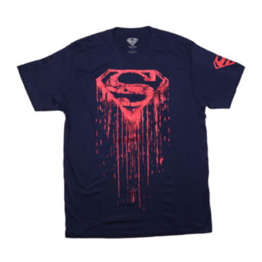jcpenney.com | Superman™ Shield Drip Tee