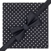 Stafford® Pre-Tied Bow Tie & Dotted Pocket Square Set