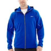 ASICS® Hooded Full-Zip Jacket