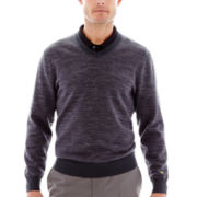 Jack Nicklaus® Long-Sleeve V-Neck Sweater