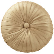 Marquis by Waterford® Samantha Gold Round Decorative Pillow